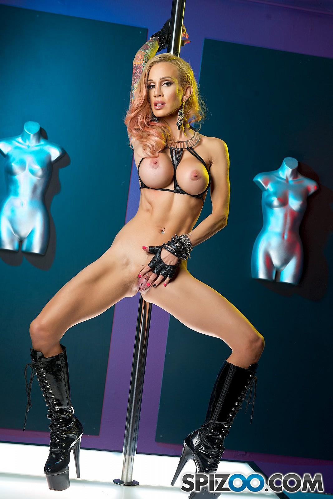 Sarah Fit Stripper - famous Sarah Jessie - Spizoo 98479