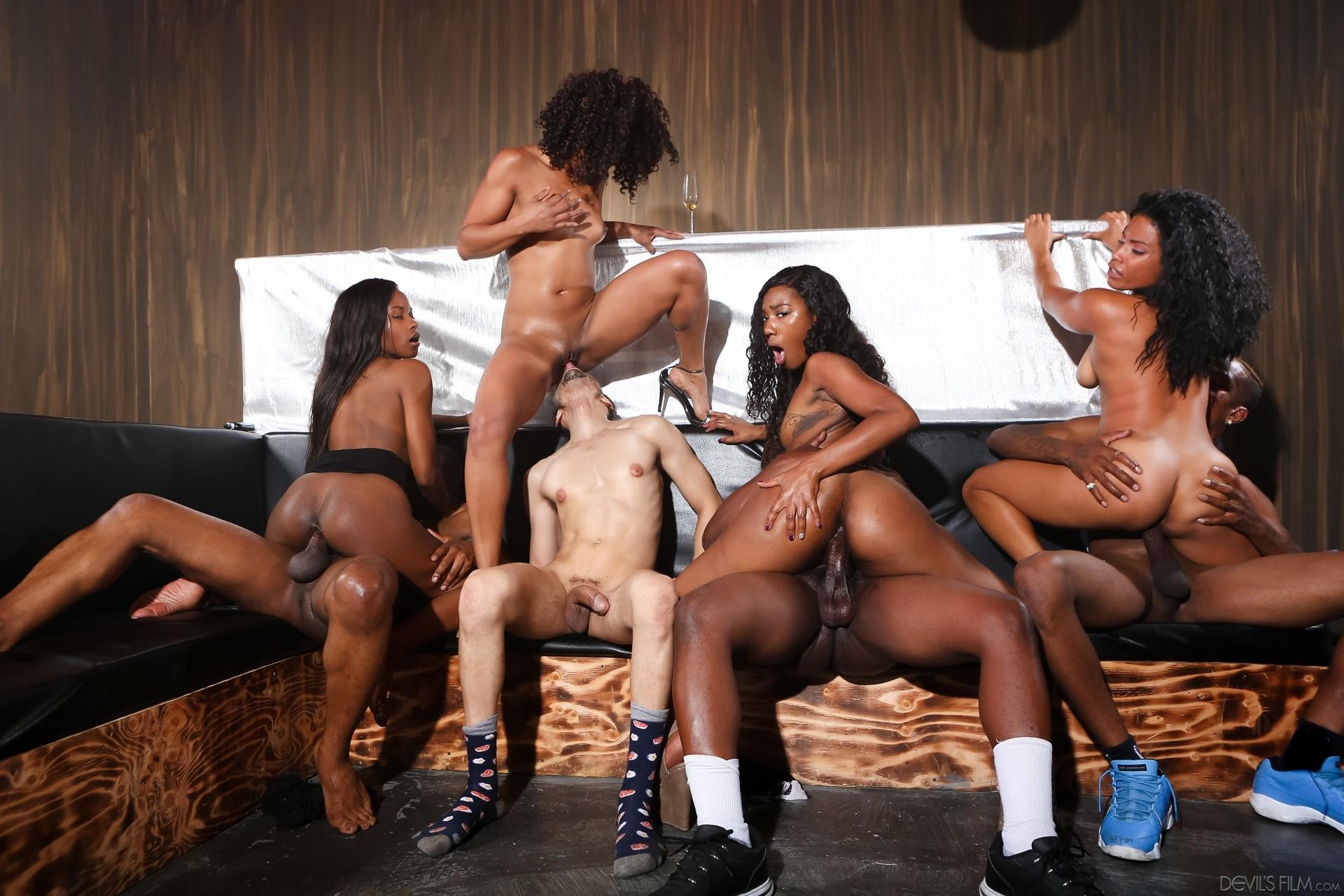 Drunk Sex Orgy Black