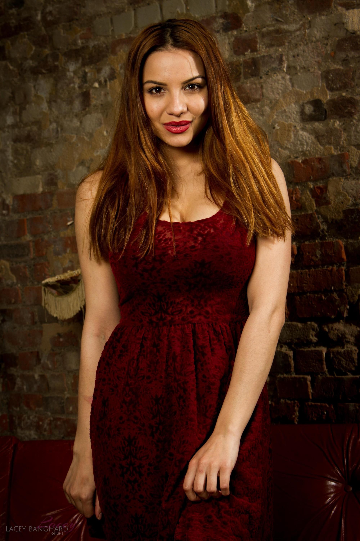 Lacey Banghard - Red Sofa 99635