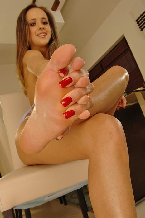 Escort foot fetish