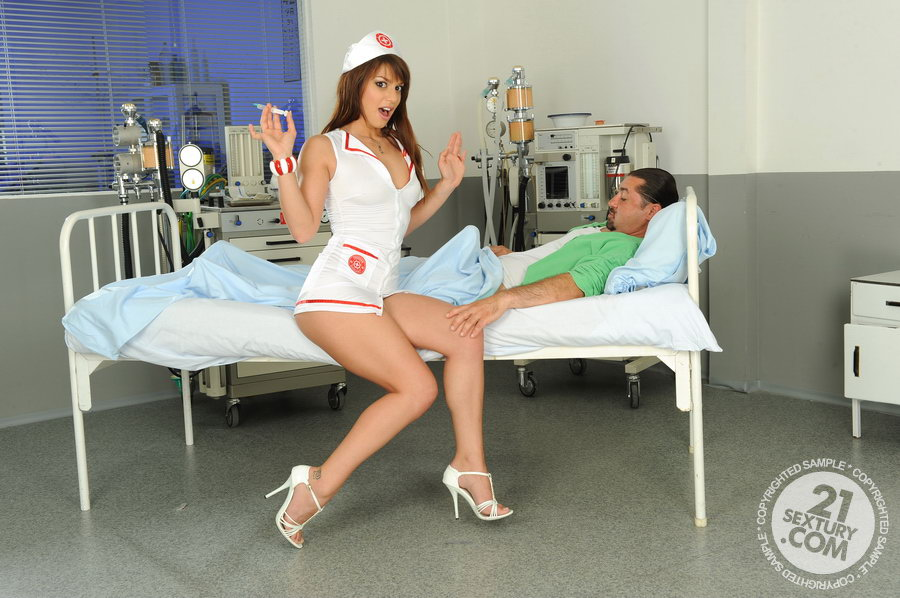 Enfermera culo mujer desnuda