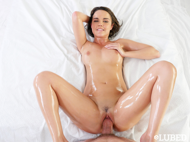 Mia Malkova Oil Massage