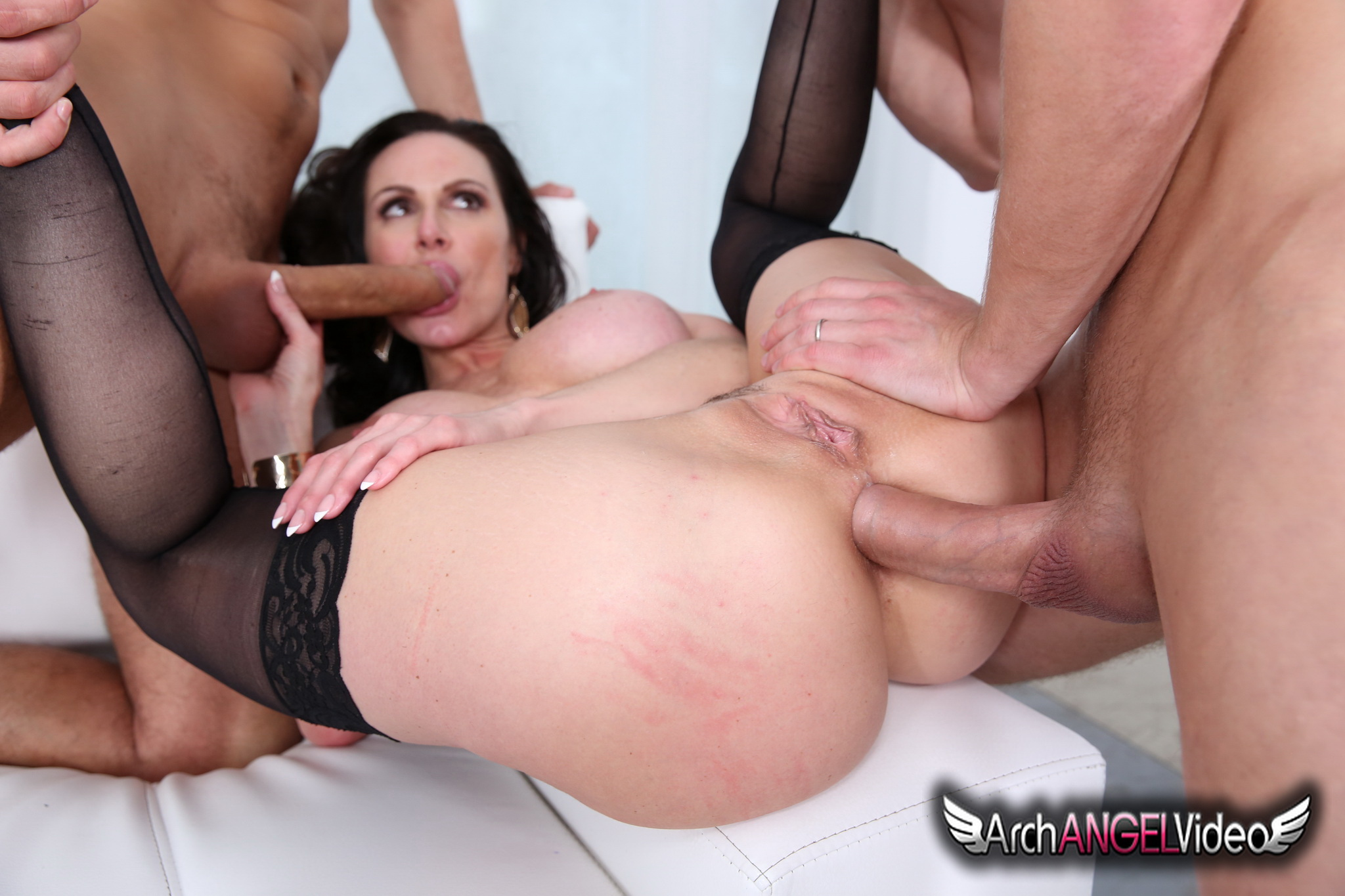 Milf anal with son