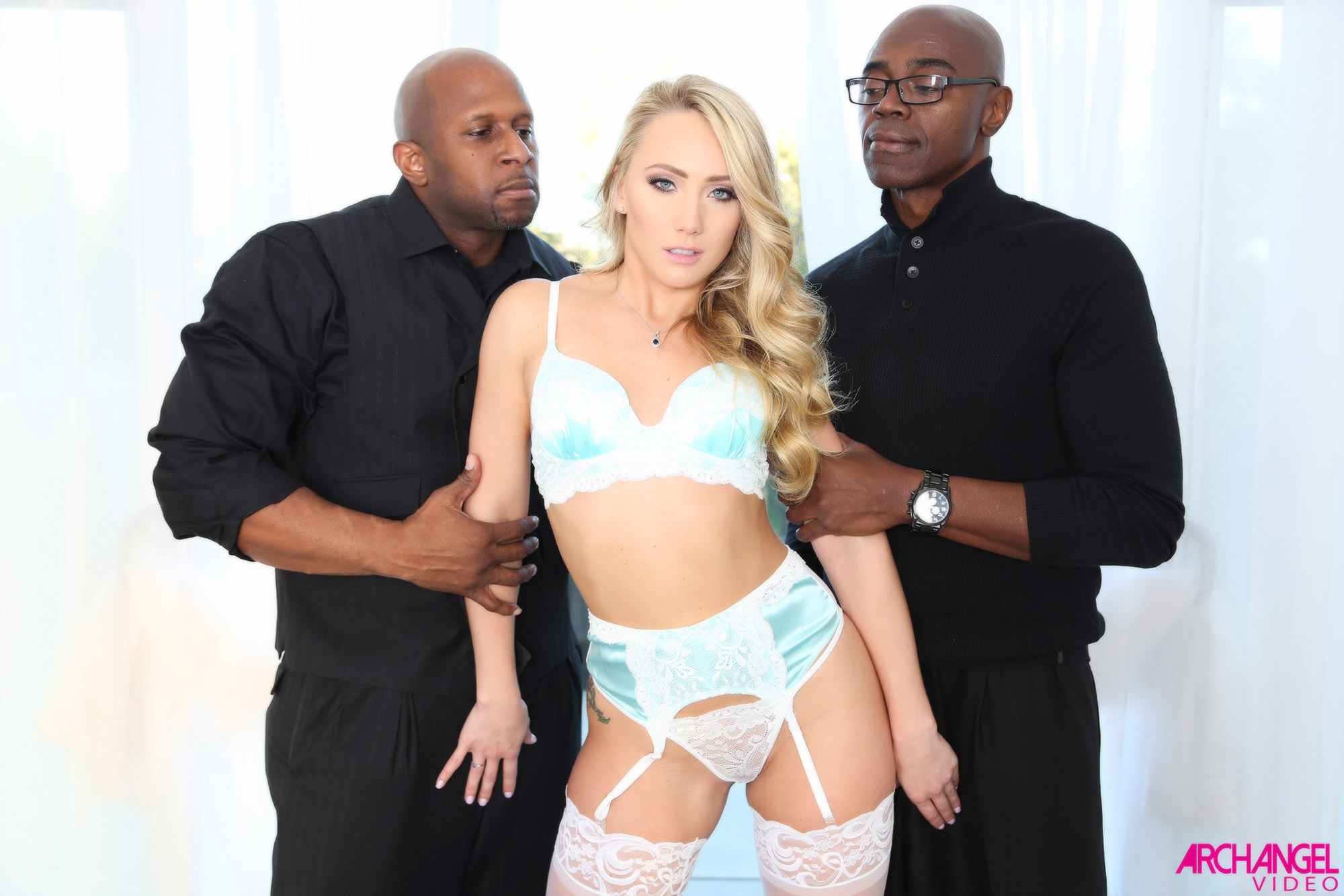 Blonde Wife Interracial Hotel