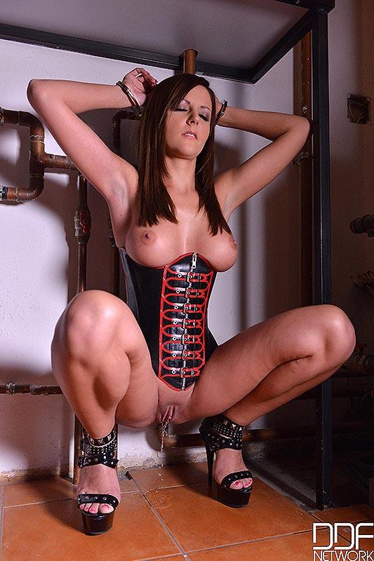 Pissing bondage pics