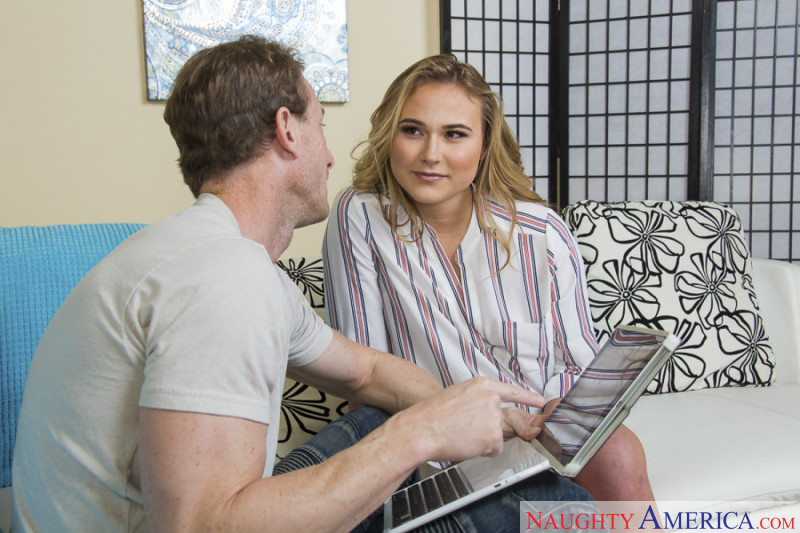 Spyfam step sister alyssa cole begs for step brother cock - 2 part 6