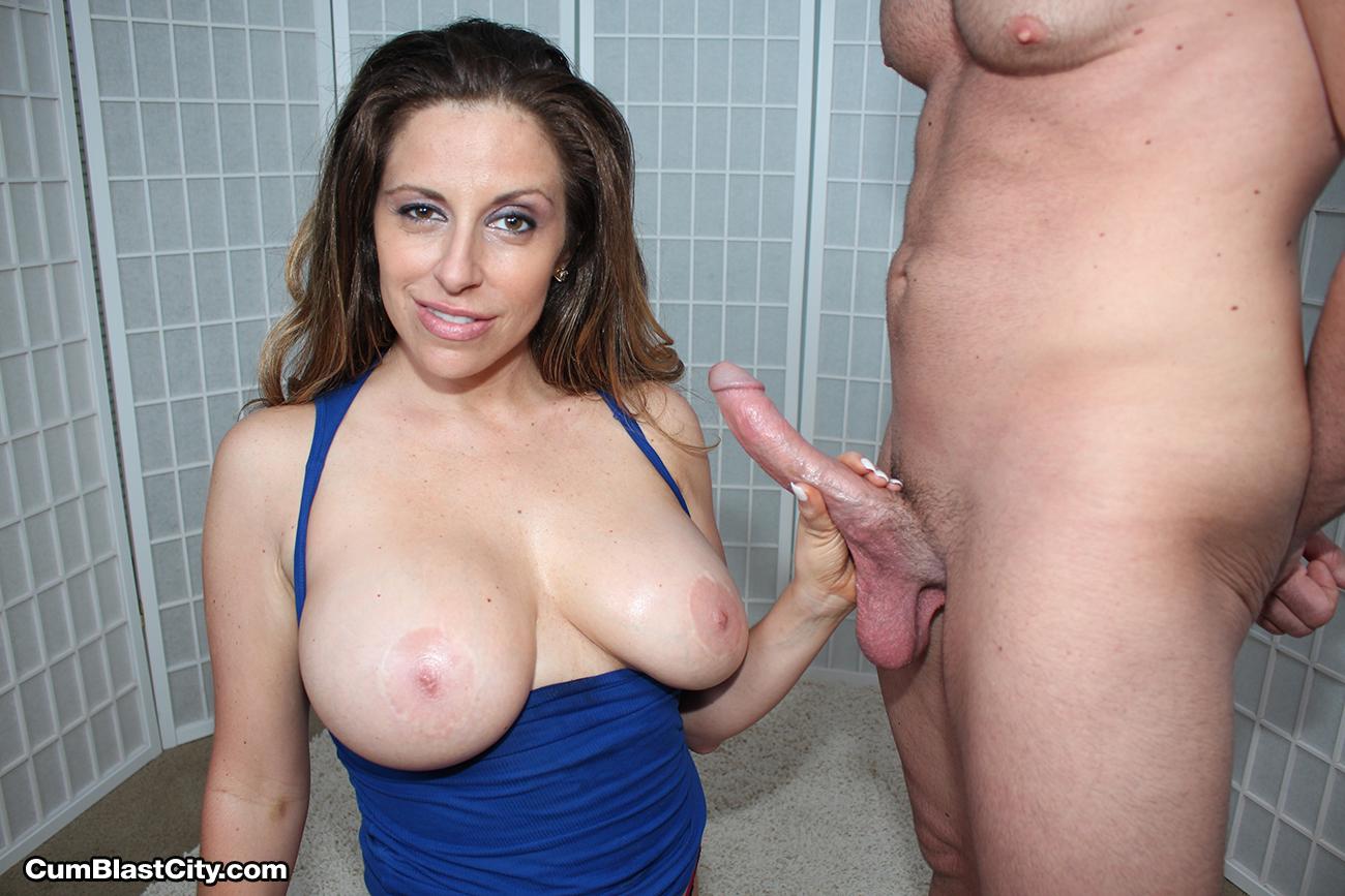 Busty Handjob Pics And Naked Women Boobs