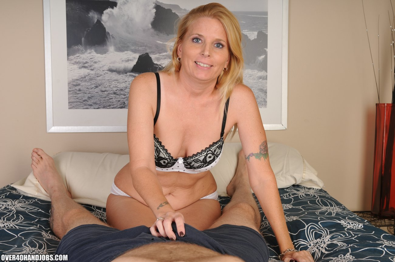 Blonde Milf Swallow Bbc Cum