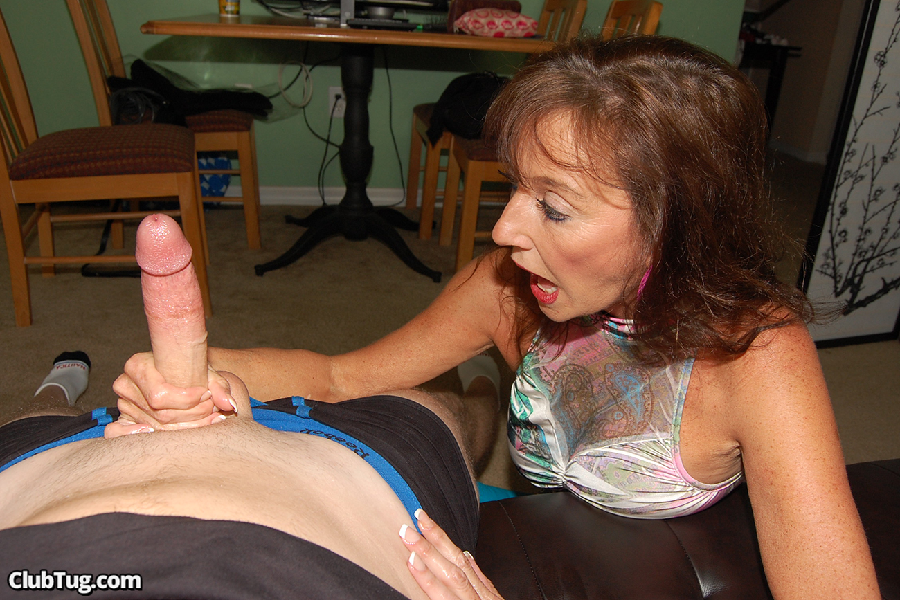 Mother Mom Handjob