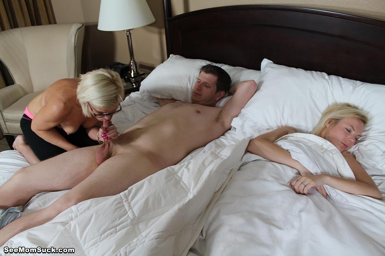Son mom dad sleeping sex pics
