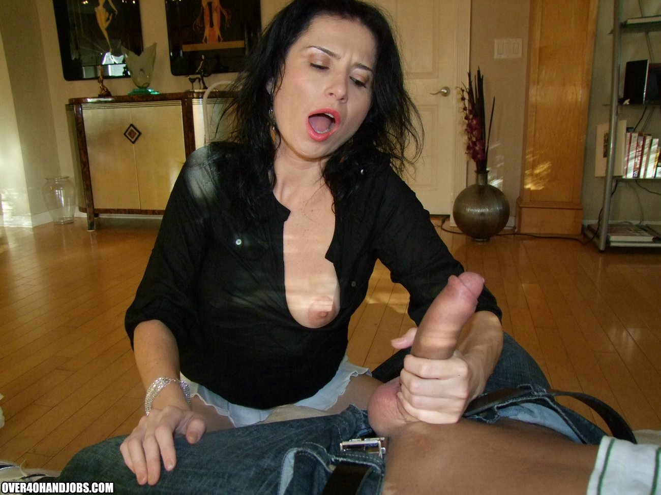 Free best moms handjob movies cock