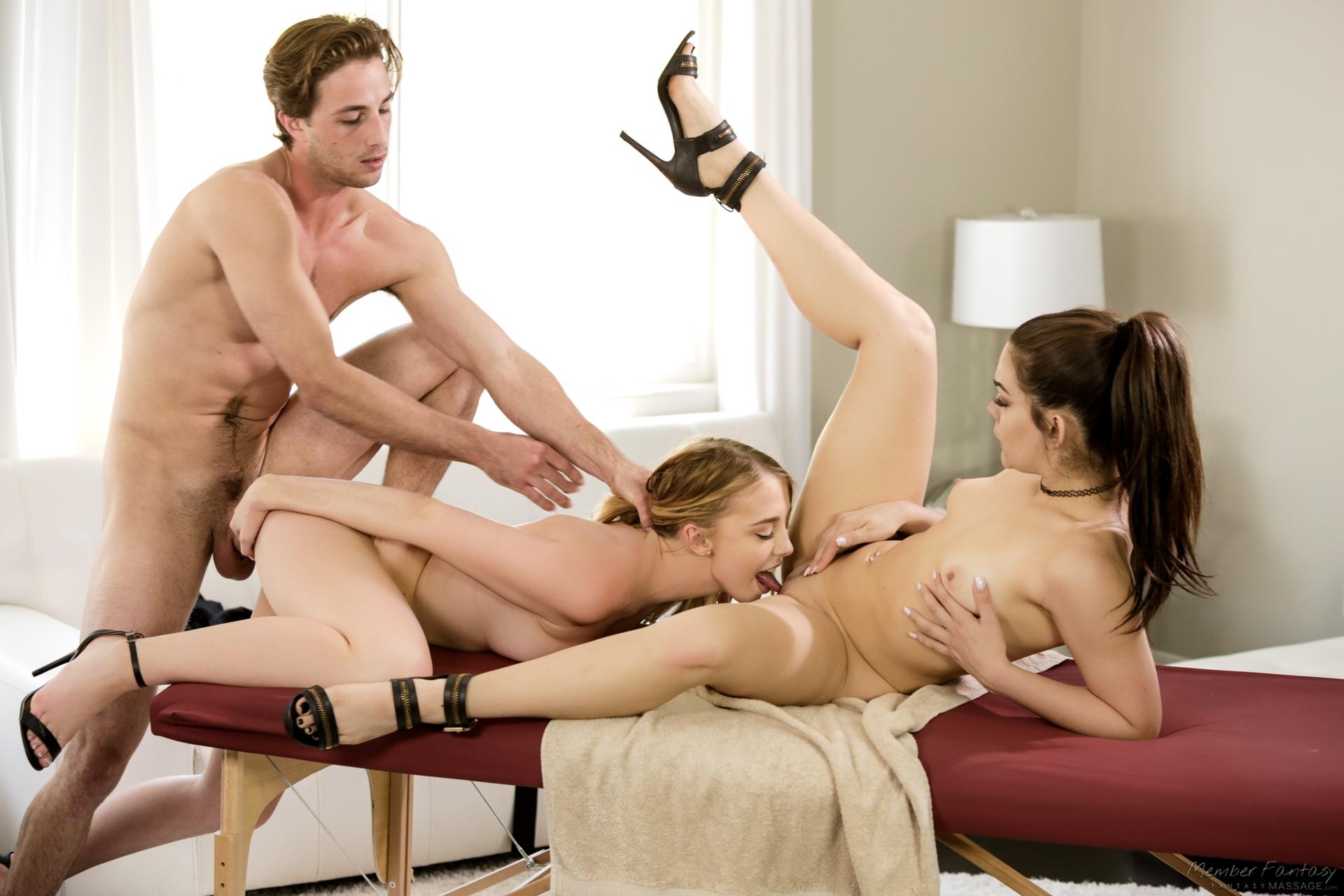 Pornos nude birthday threesome video