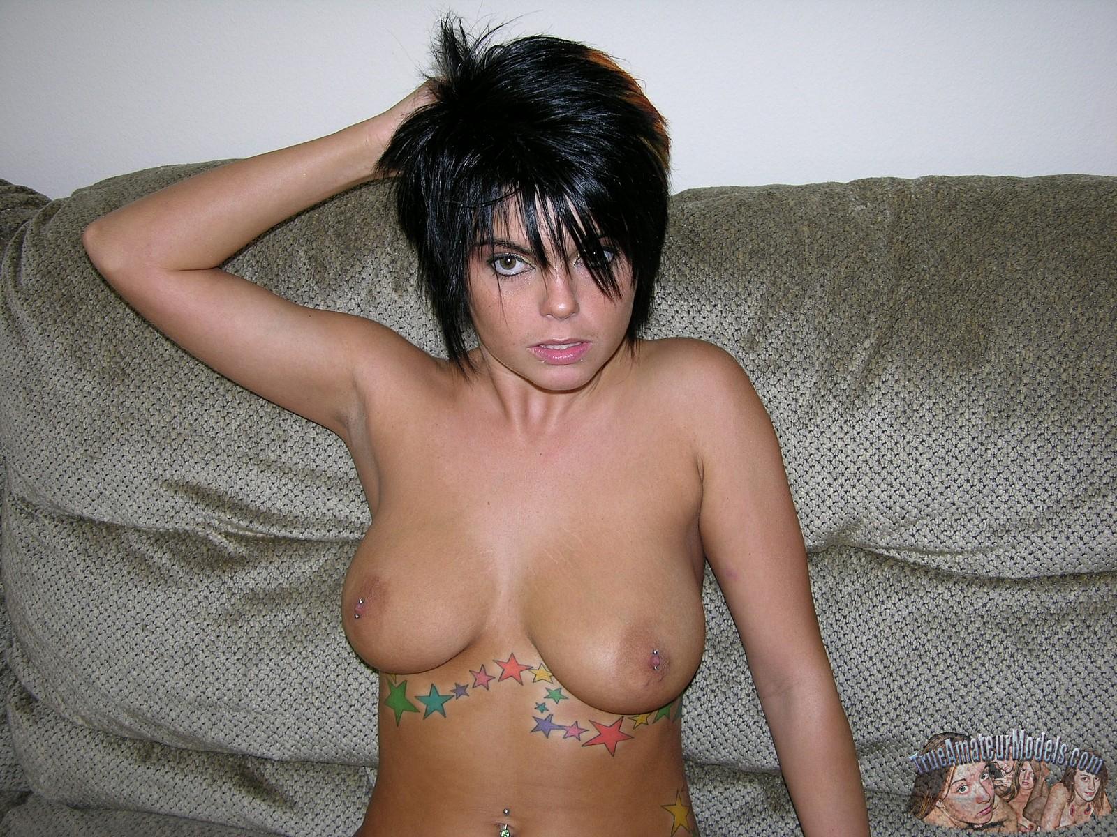 punk rock model nude