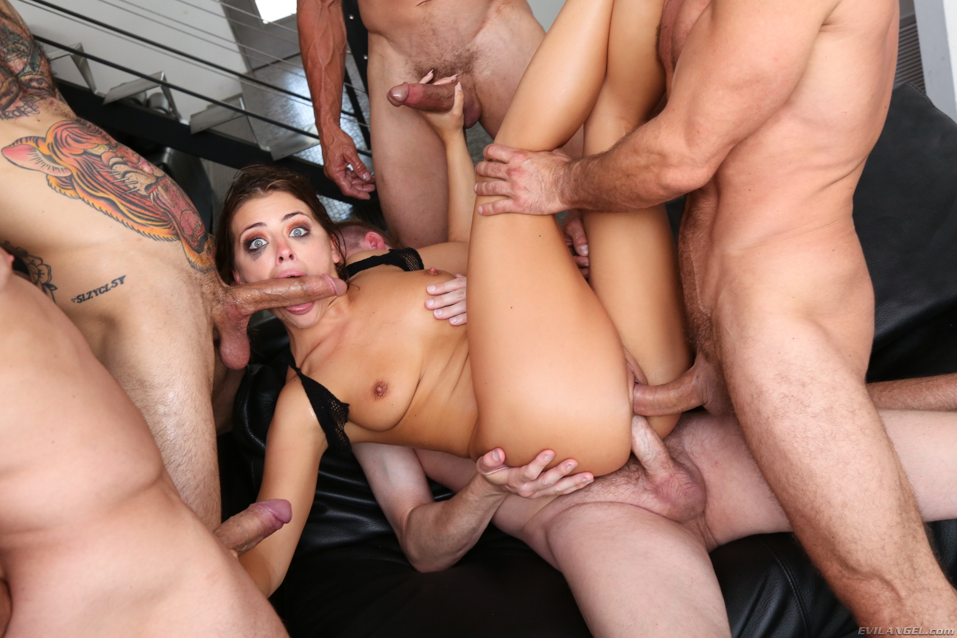 Free Black Gangbang Photo Clips