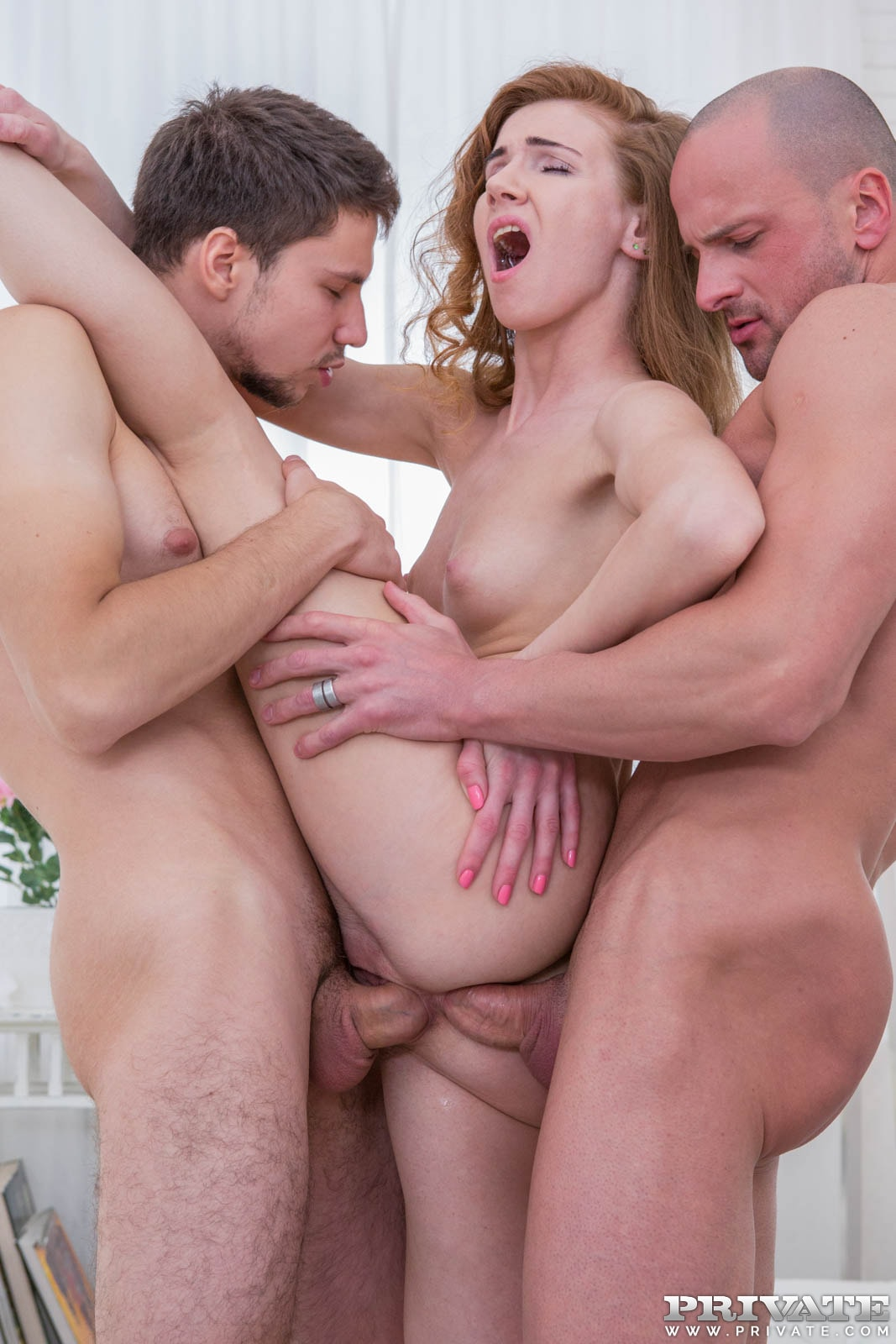 Her first double penetration