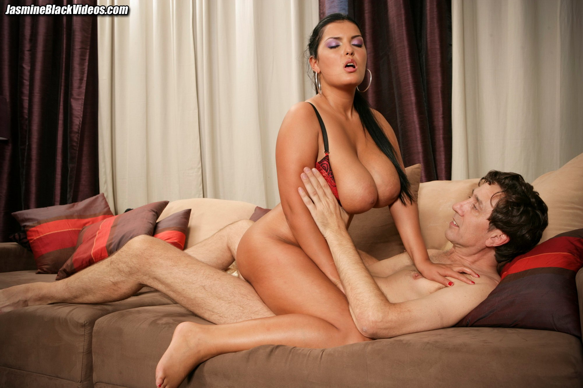 Jasmine Black Takes Steve Holmes 10 Inch Dick Up Her Ass -5580