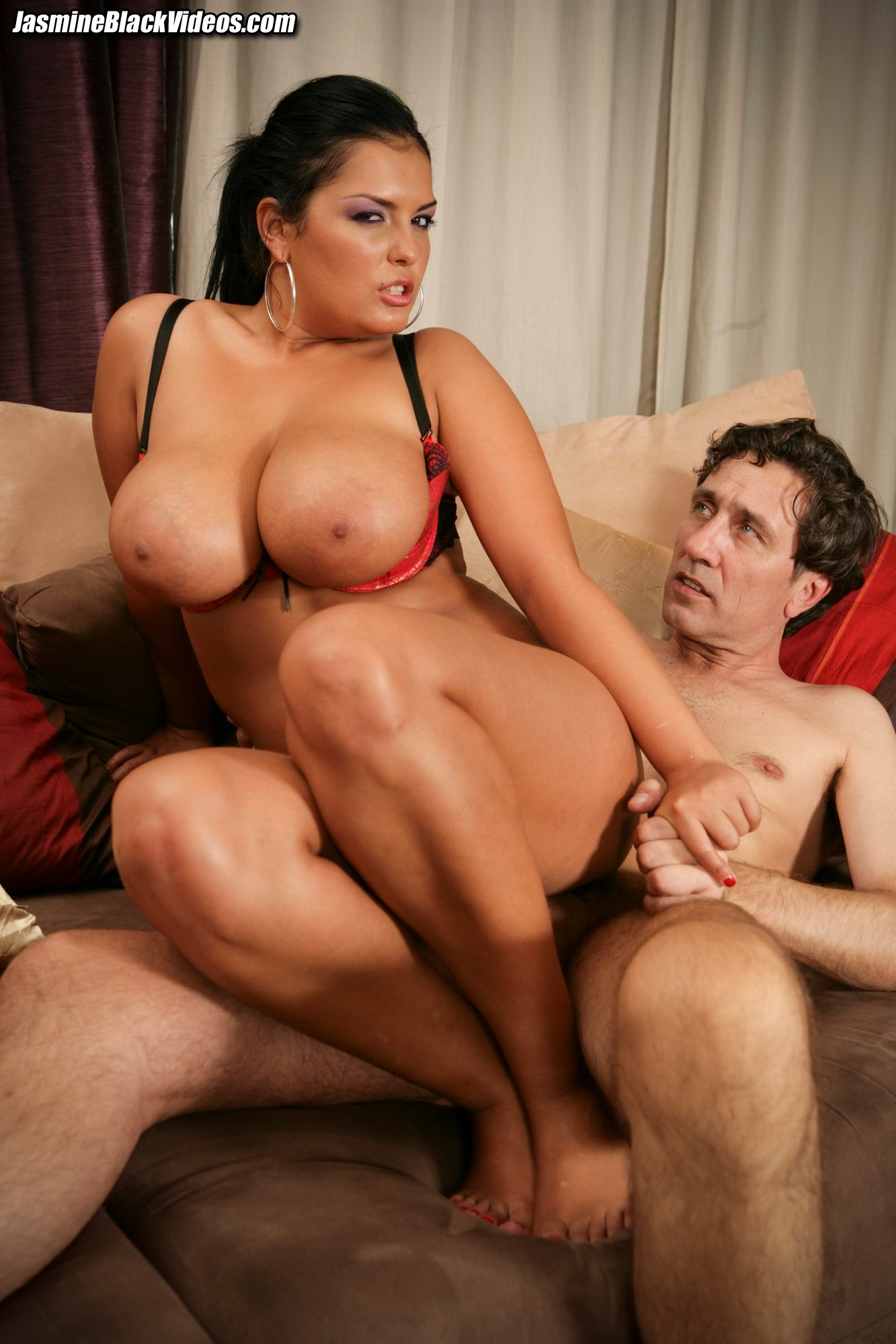 Jasmine Black Takes Steve Holmes 10 Inch Dick Up Her Ass -6539