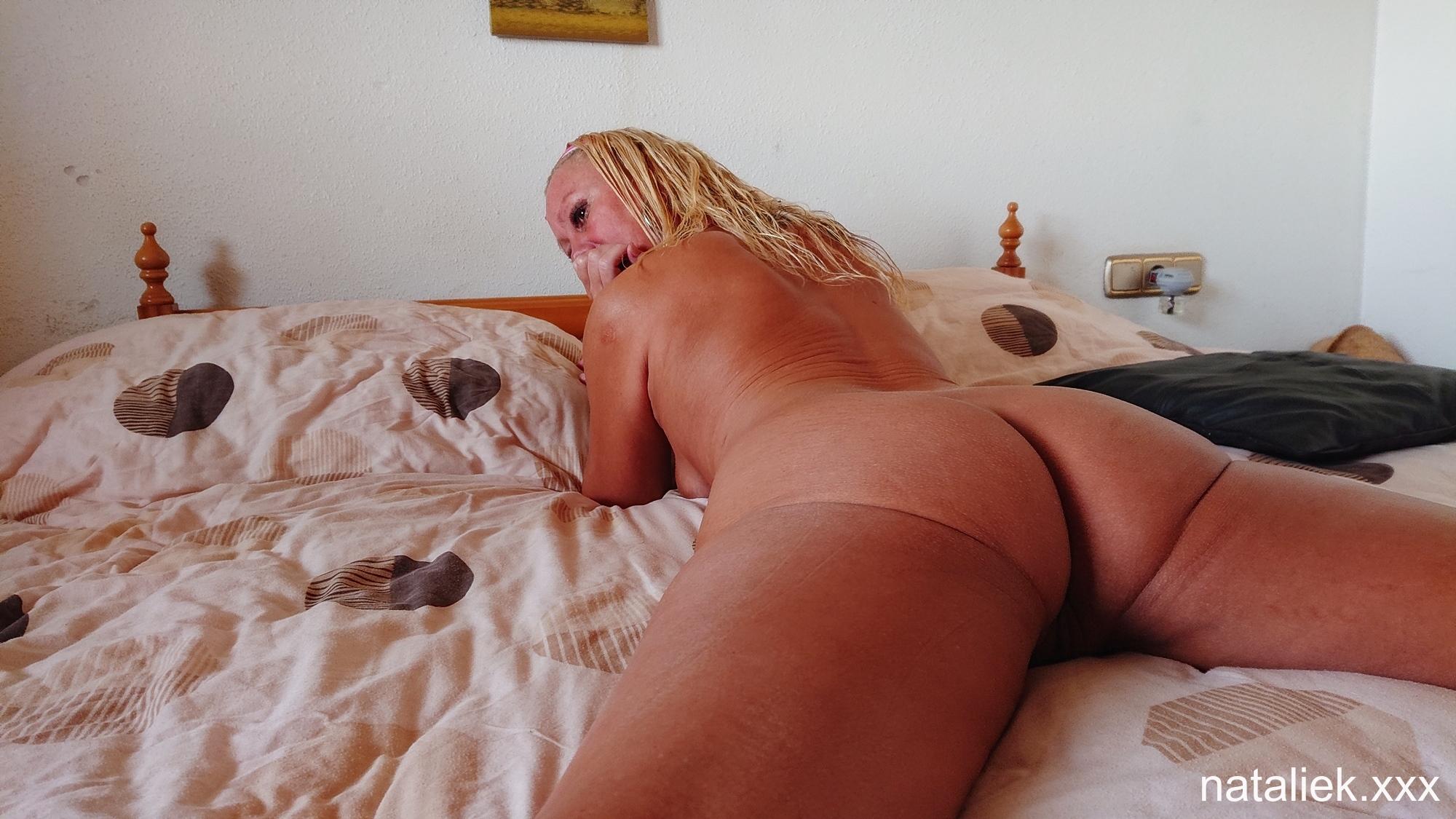 Masturbating Naked