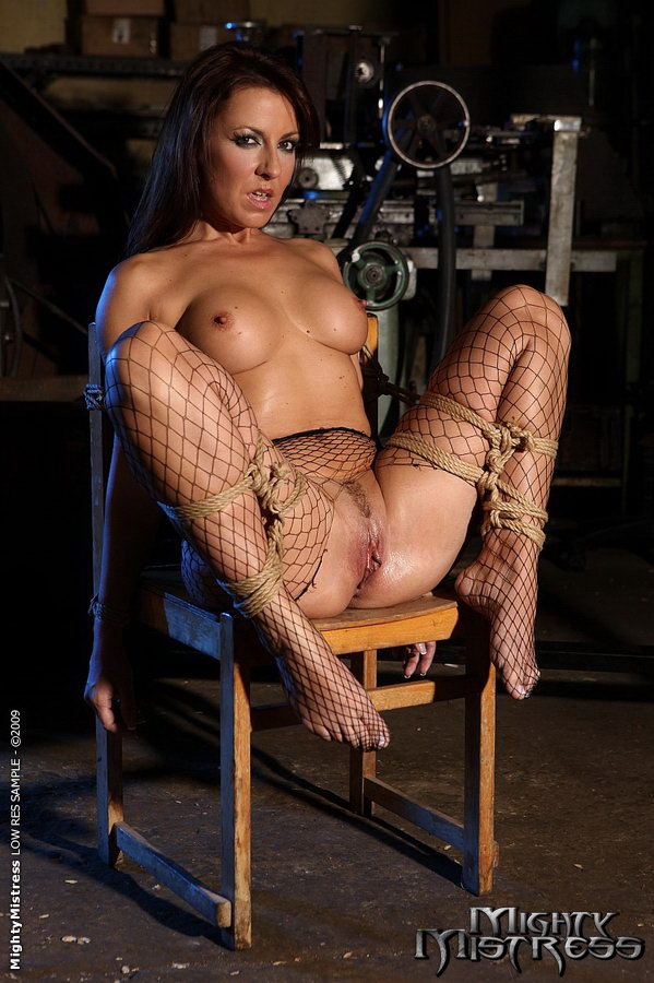 Maria bellucci anal bondage