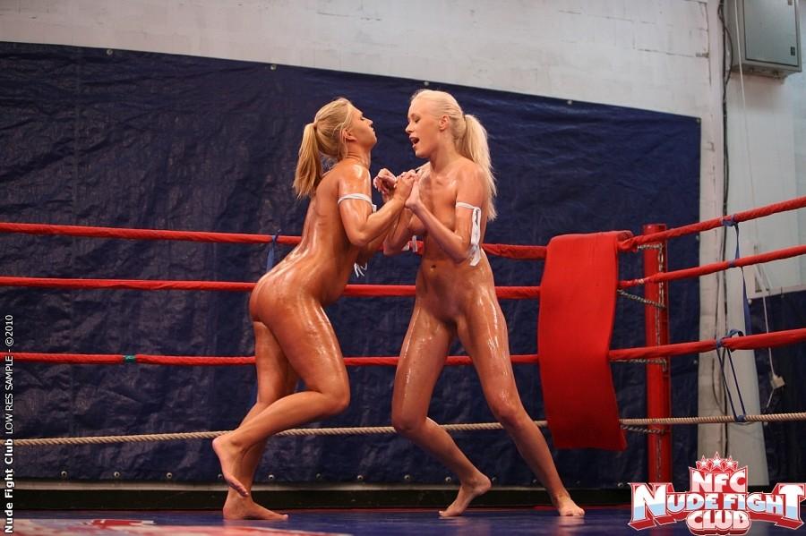 Linda Ray  Teena - Wrestling Girls - Nude Fight Club 11967