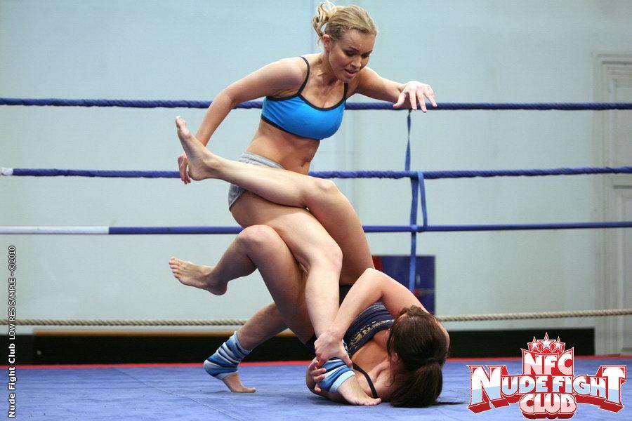 Bailee  Colette W - Wrestling Girls - Nude Fight Club 11974