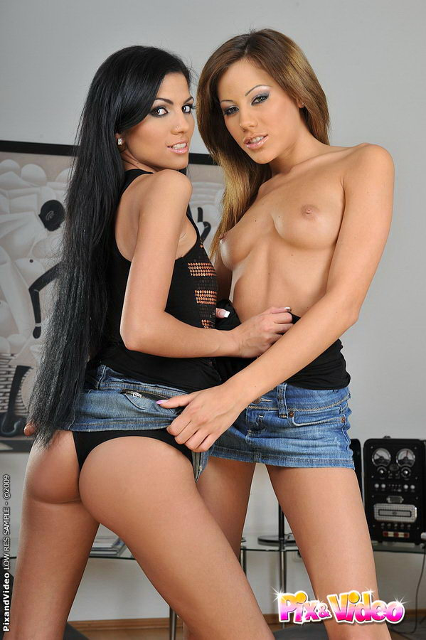 Lesbian Action with Anita Pearl and Pure Angel 2 ...