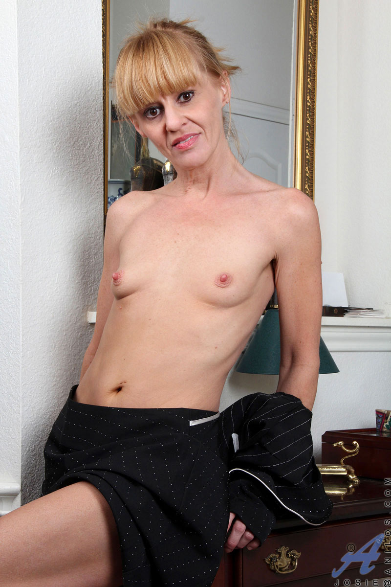 Small Tits Blonde Mature