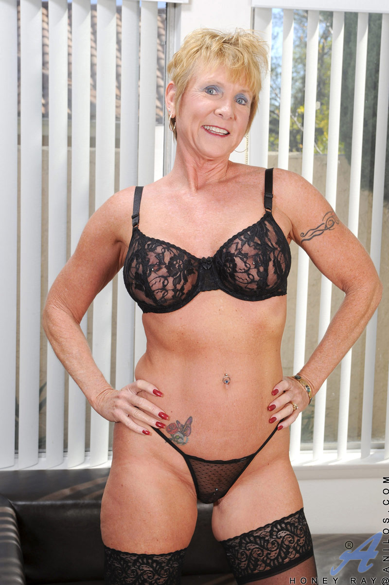 Milf with big tits wearing bra and panty exhib in street 10