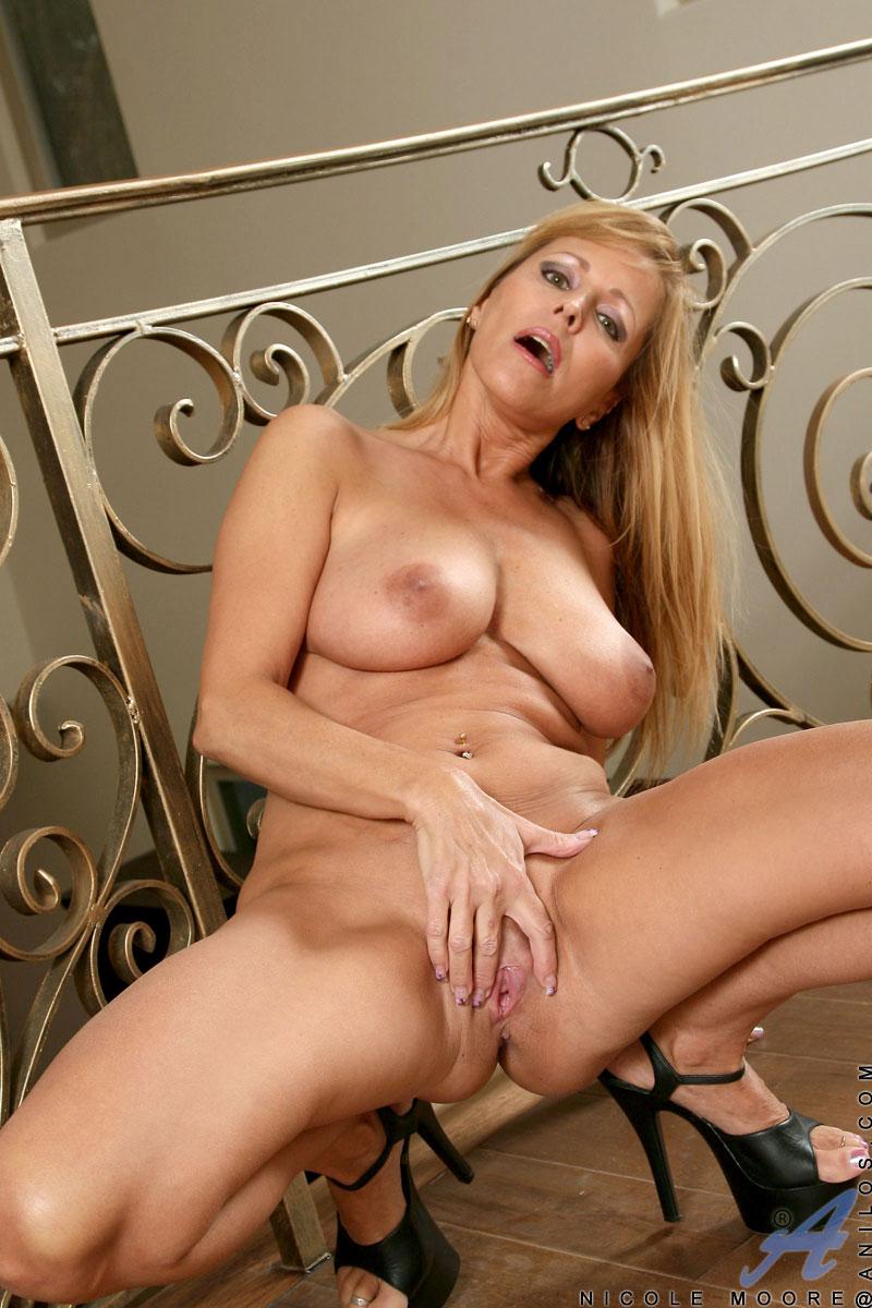 Nicole Moore - Sheer Underwear 15421