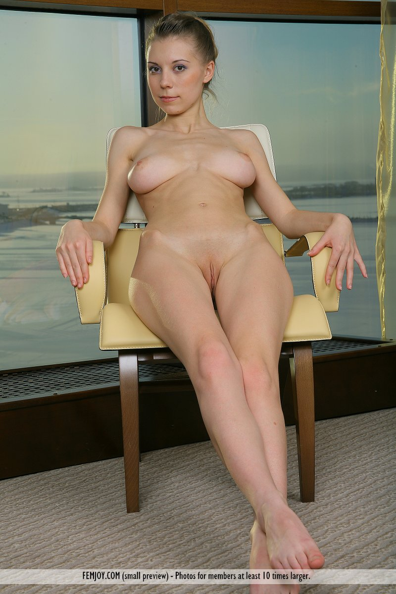 Business Woman Nude