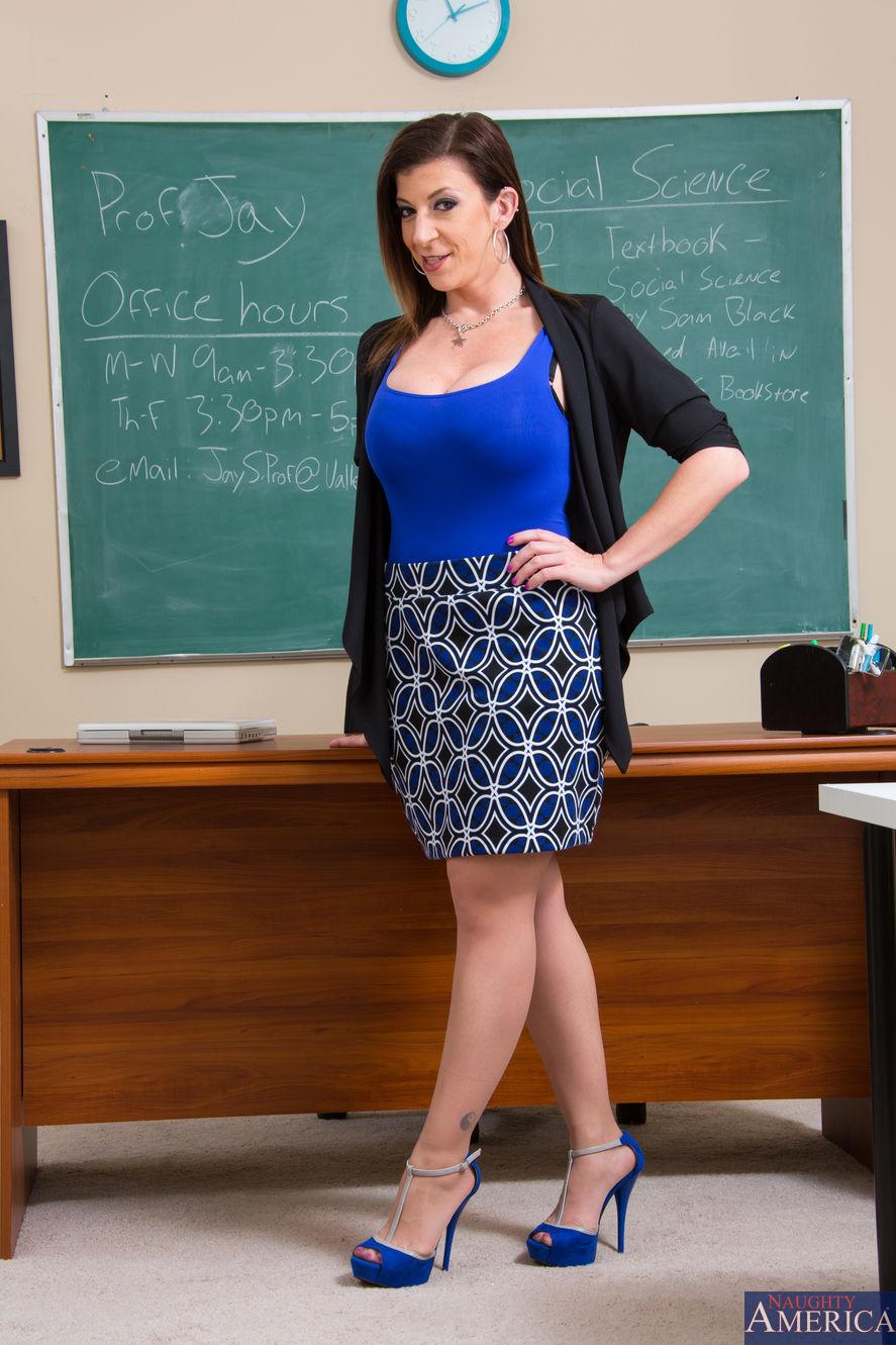My first sex teacher lisa ann Nude Photos 46