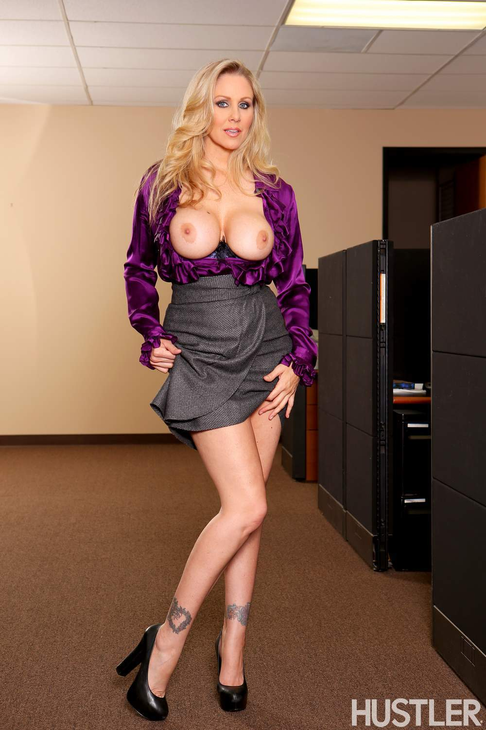 ... Julia Ann - Busty Office MILFs 4 9 ...