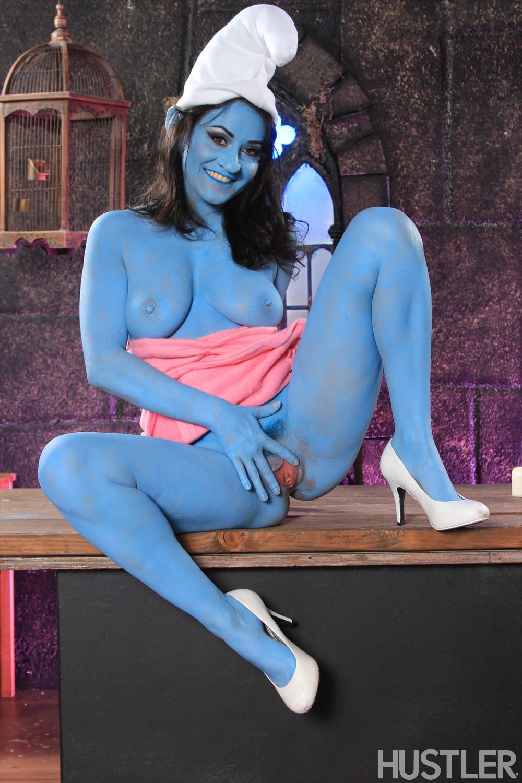 Smurf cosplay porn nude women teen