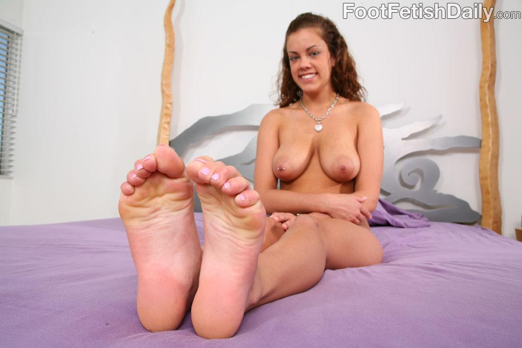 Christina Carter Feet Tickled