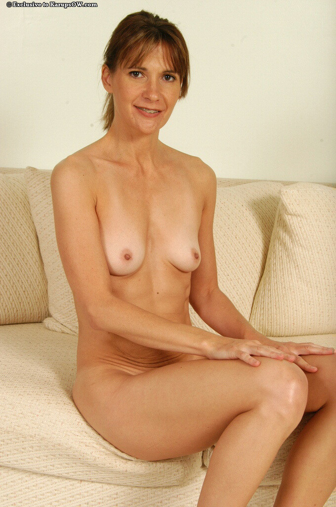 Blonde big tits mature milf with long legs 9