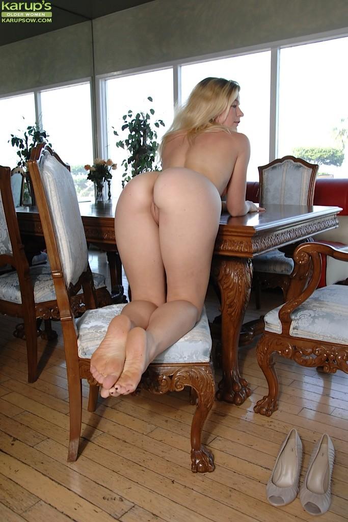 Hot Blonde Mature Women