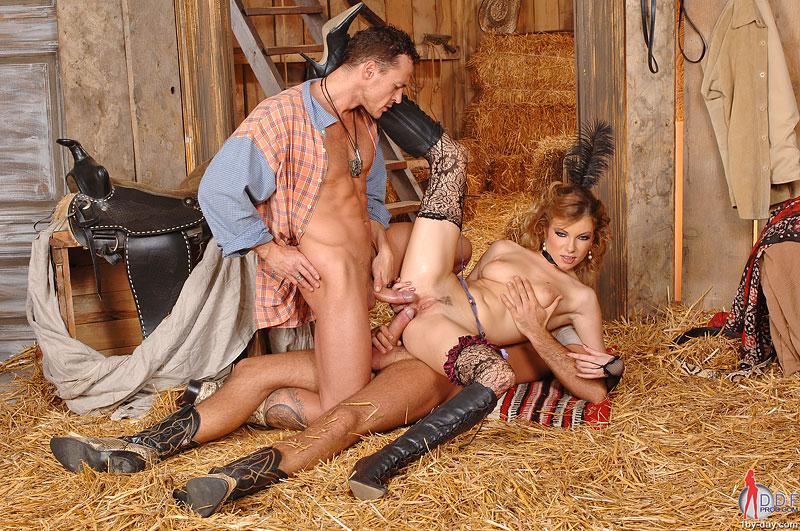 ковбой трахает проститутку фото