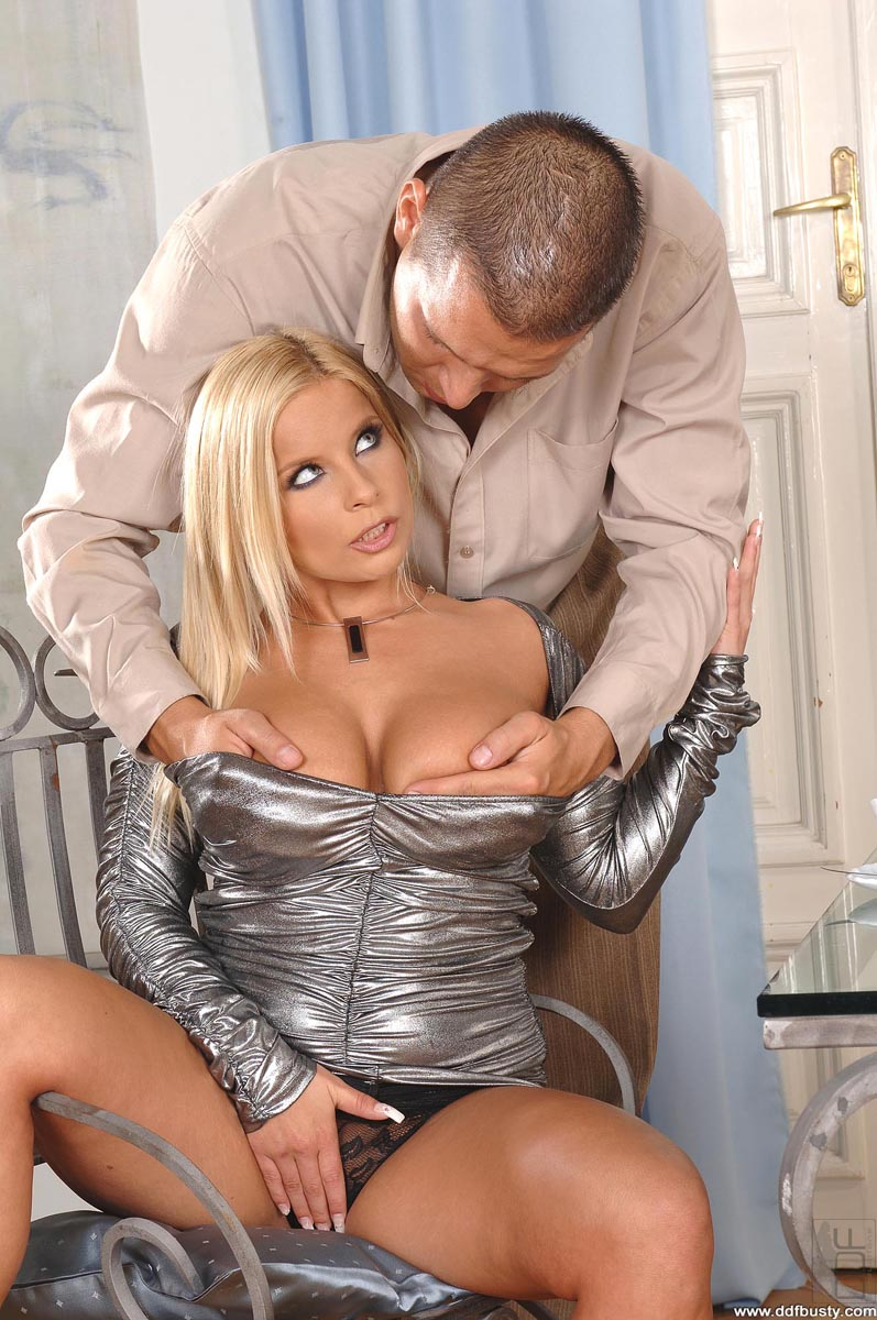 Busty blonde love lucy