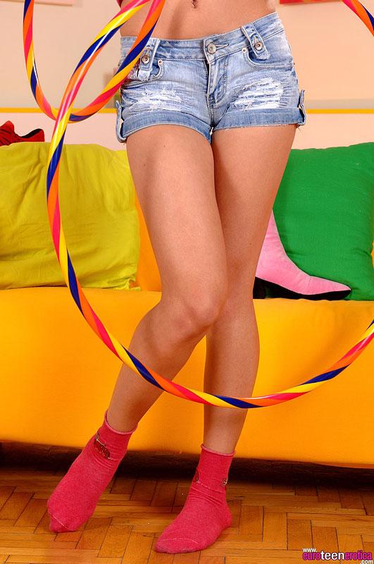 Bikini candid girl teenager