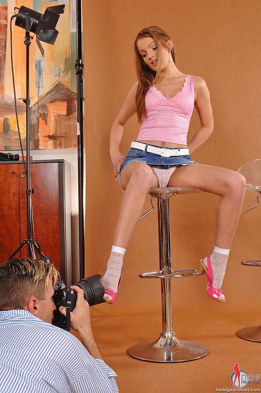 модель и фотограф порно