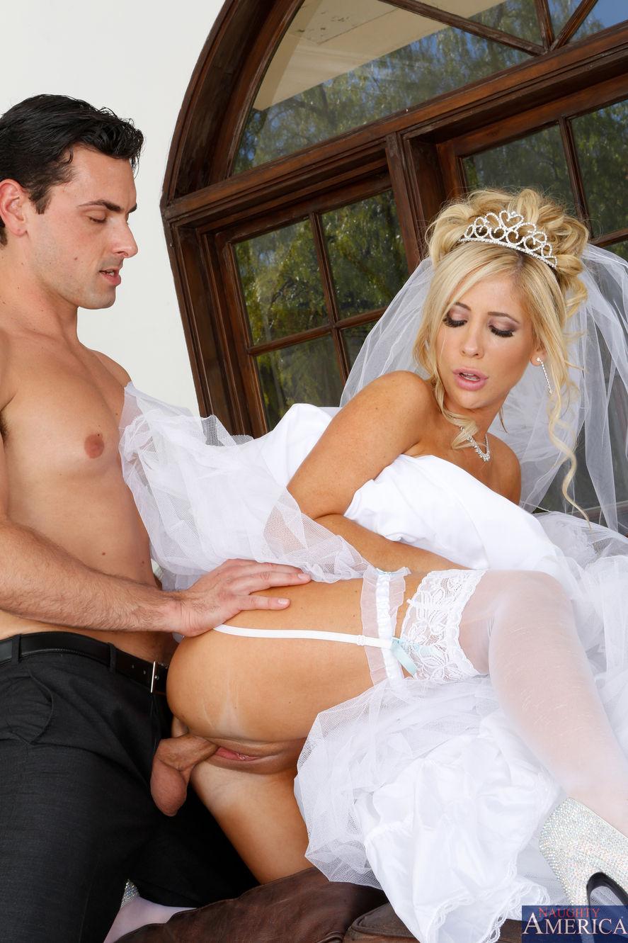 Жених и невеста секс