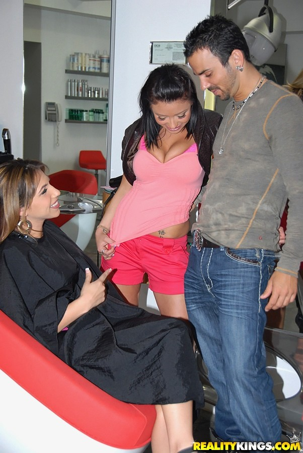 Sex in the hairdressers