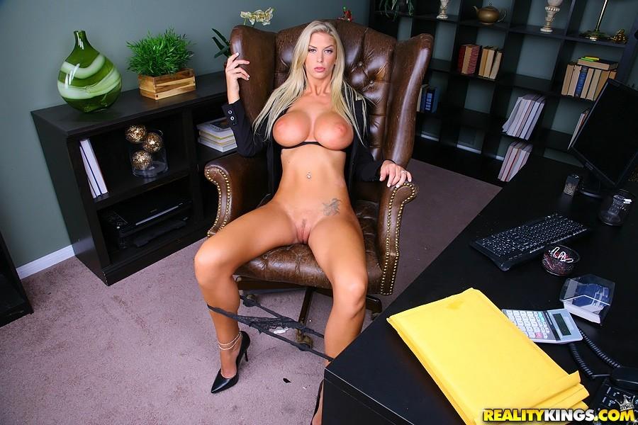 Brooke banner big tits boss