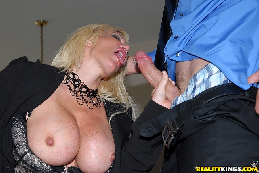 Big tits boss 5