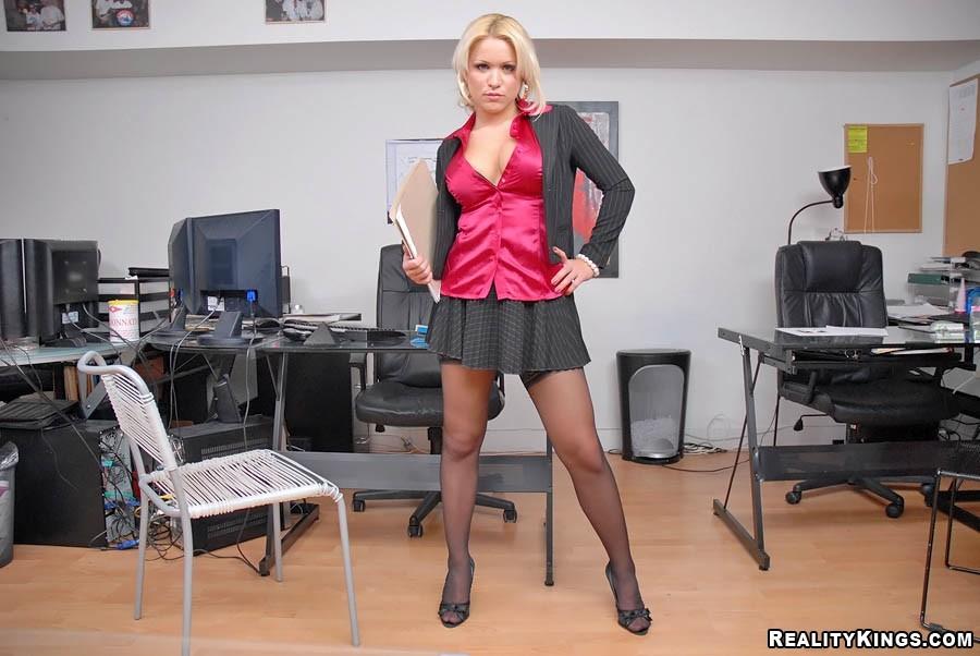 Big tits boss tamara
