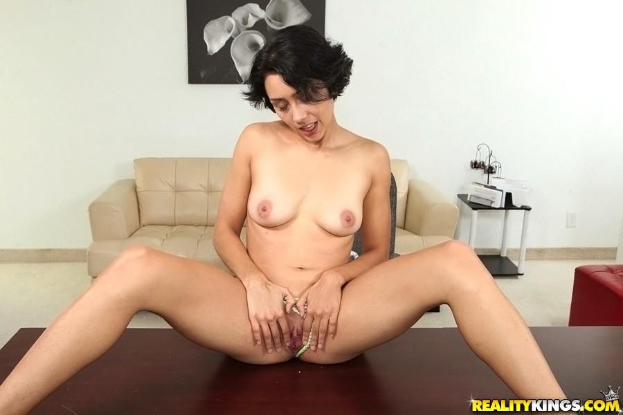 Latina diva lilly hall has leg shaking anal orgasms 8