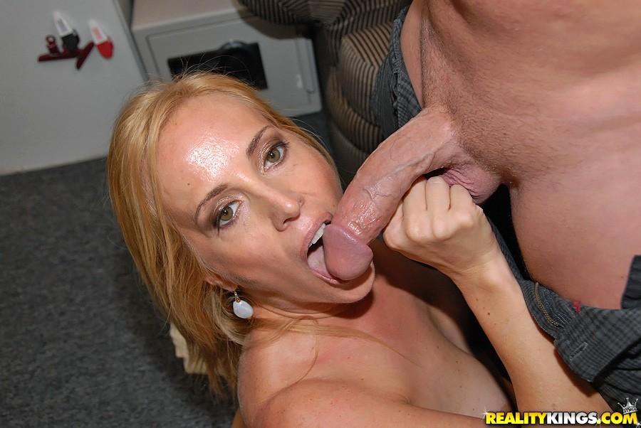 image Big tits mom threesome and cumshot