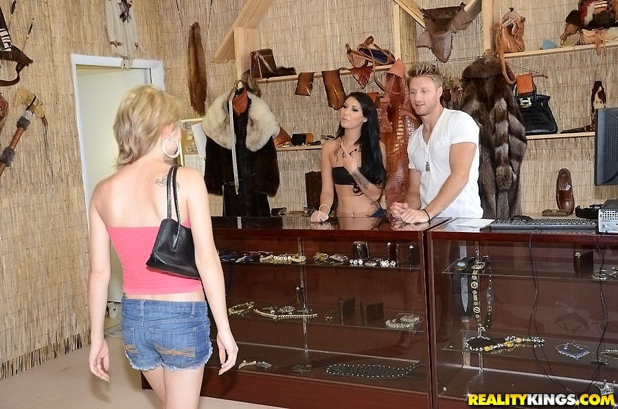Realitykings money talks thrift store pussy 3