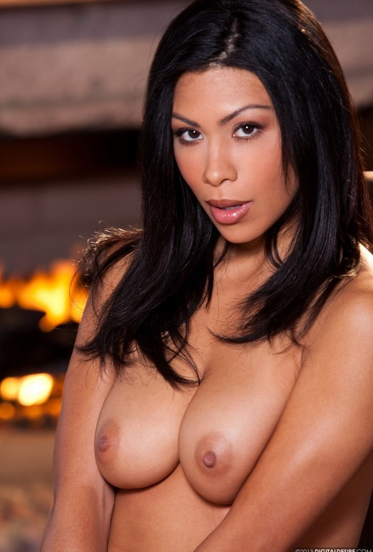 Cassandra Cruz Gets Naughty In Front Of A Warm Fire