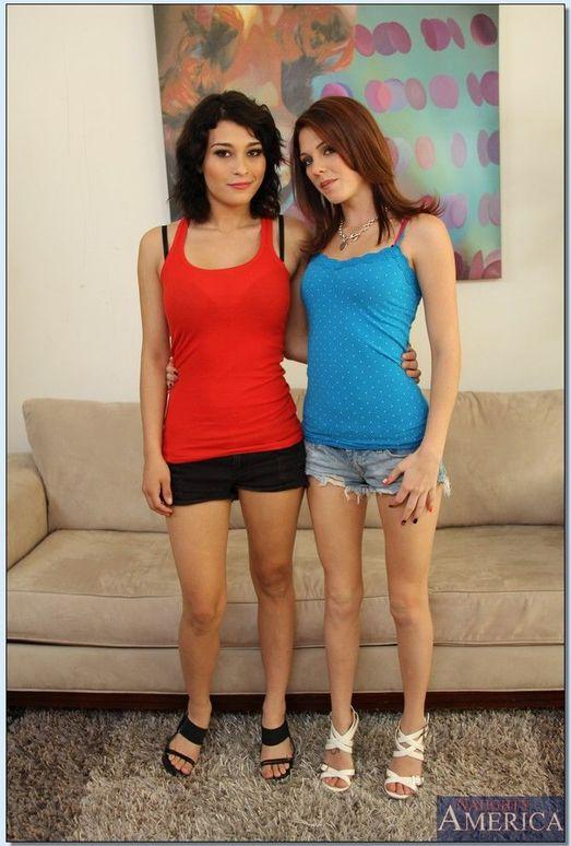 Kiera Winters, Raven Rockette - Lesbian Girl on Girl